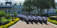 Alunos do curso de formacao do sistema prisional durante estagio na CPPP - Miller Freitas (9).JPG