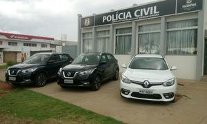 Veículos eram furtados em São Paulo e, com documentos fraudulentos, eram revendidos no Tocantins