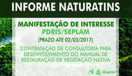 As manifestações deverão ser entregues na sede da Seplam Tocantins, em Palmas ou na Unidade de Gerenciamento do Projeto UGP, em Brasília, até 18h do dia 2 de março de 2017