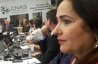 Secretária do Trabalho e Assistência Social, Patrícia Amaral, participa da reunião da Comissão Intergestores Tripartite