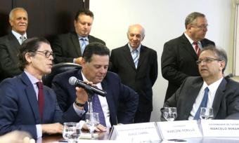 Para o governador Marcelo Miranda, que assinou o documento como testemunha, Tocantins e Goiás podem desempenhar uma importante papel nas relações econômicas de Brasil e Portugal