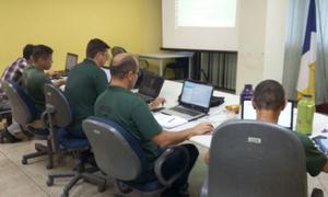 Treinamento foi encerrado com avaliação teórica, de forma eletrônica, presencial e on-line, através da plataforma Moodle