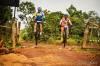 Ciclistas durante evento de aventura em trechos de terra em Palmas