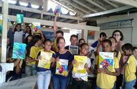 Objetivo do evento foi conscientizar os alunos quanto à importância de se conservar os livros