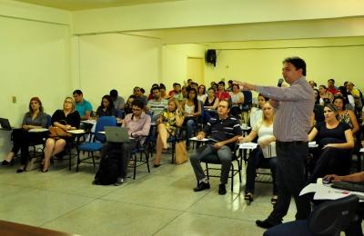 Marinaldo Santos apresentando do novo software