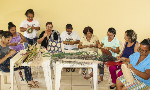 Mulheres contam com o apoio do projeto de geração de renda Apoiando e Acreditando nas Famílias do Estado do Tocantins (Aafeto) para empreender