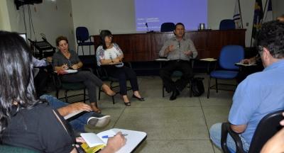 A reunião aconteceu na tarde desta quarta-feira, 08.