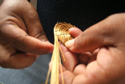Símbolo do Tocantins, as peças em capim dourado estarão presentes na exposição