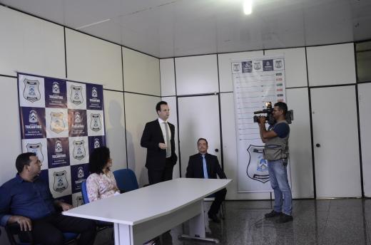 Chefe da Assessoria de Informação Estratégica do Depen, Marcello Paiva de Mello, fala sobre pioneirismo do Tocantins na implantação do SisDepen