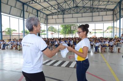 O programa tem o objetivo de envolver alunos do 6º ao 9º ano de escolas estaduais e municipais de todo o Estado