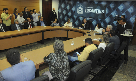 Anúncio das nomeações ocorreu na manhã desta quinta-feira, 16, no Palácio Araguaia, durante coletiva de imprensa