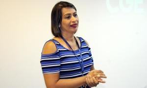 Diretora de Ouvidoria, Transparência e Combate à Corrupção, Kátia Silva Macêdo Barcelos, fez o repasse das orientações sobre como a CGE atuará nesta nova fase
