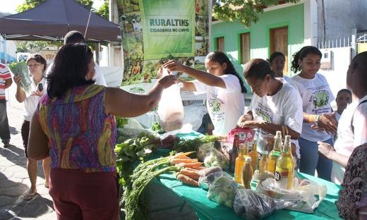 Serão 48 expositores apresentando diversos produtos como hortaliças, legumes, frutas, comidas típicas, artesanatos, dentre outros