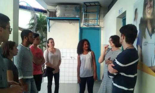 Estudantes das Escolas de Ensino médio em Tempo Integral são acolhidos pela equipe da Seduc e alunos de Pernambuco e Goiás