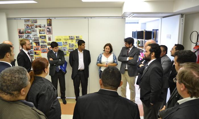 Gestores de vários Estados conheceram as instalações da Unidade Helvétia do Cratod, em São Paulo.