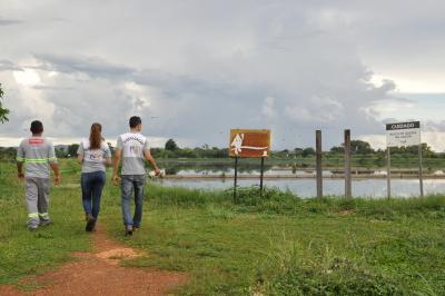 Estação de Tratamento de Esgoto Francisquinha com capacidade para tratar 68 litros de esgoto por segundo - Núbio Brito/Governo do Tocantins