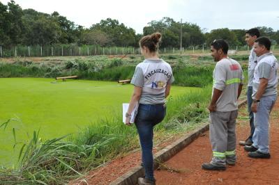 Estação de Tratamento de Esgoto de Luzimangues trata 3,5 litros de esgoto por segundo - Núbio Brito/Governo do Tocantins