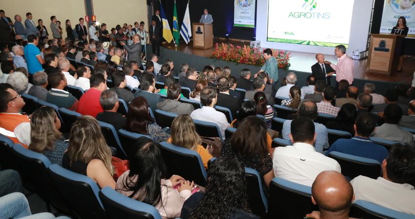 O lançamento da Agrotins 2017 contou com mais de 400 pessoas e foi realizado no auditório do Palácio Araguaia, em Palmas