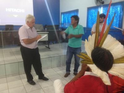 Técnicos da Seplan ouve demandas dos índios