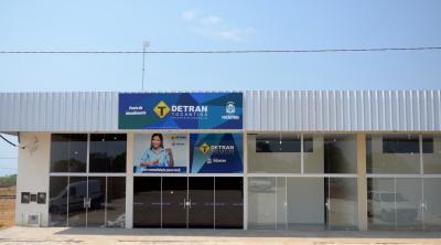 Posto do Detran em Luzimangues foi inaugurado em setembro de 2016