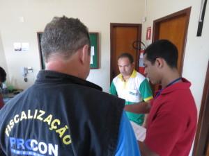 Fiscalização nas revendedoras de gás de cozinha em Palmas