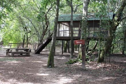 Cabana do filme Xingu é uma das atrações do Cantão