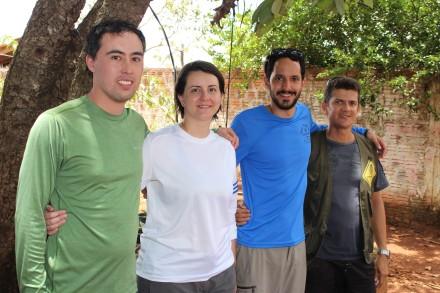 Pela segundo ano, os paulistas Marta Fernandes, Julio Barbeiro e Mario Hilsenrath fazem turismo no Tocantins