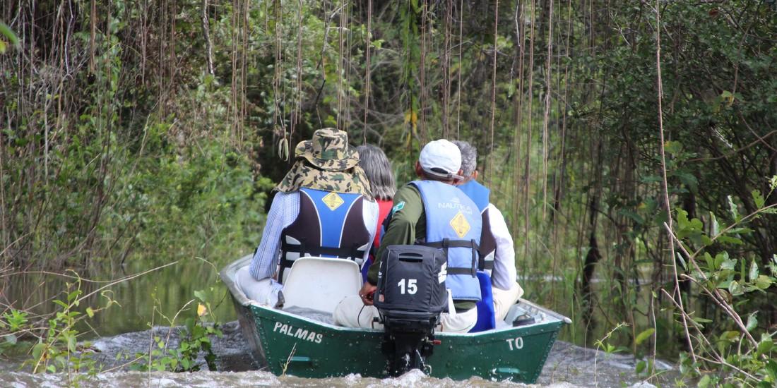 Turismo no Cantão, passeio no coração verde da floresta alagada
