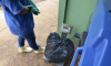 A coleta de lixo é feita e paga por quilo, sendo que cada quilo de resíduo infectante custa R$ 4,08