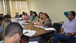 Servidores discutem regimento interno das Unidades Socioeducativas do Estado.