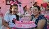 Felicidade da aniversariante emocionou todos os presentes