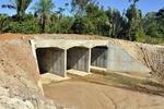 Ao todo, serão executadas 20 obras hidráulicas, sendo sete pontes e 13 bueiros