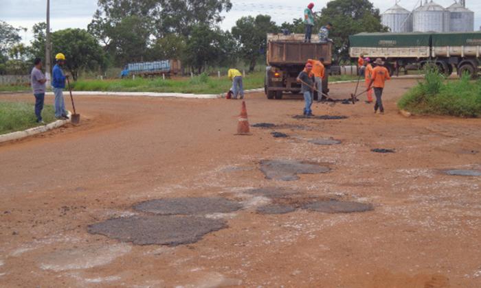 Obras irão garantir a trafegabilidade na rodovia