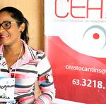 Jucélia Alves da Silva diz acreditar que o encontro irá aprimorar seus conhecimentos