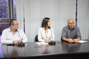 Abertura das inscrições do Prêmio foi anunciada pela secretária Meire Carreira durante entrevista coletiva à imprensa, realizada no auditório da Semarh