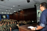 A solenidade aconteceu no auditório do Quartel de Comando Geral da PM.