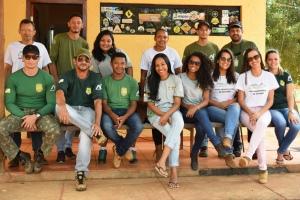 A ação contou com funcionários do Naturatins, Voluntários e BPMA