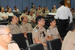 Corporação PMTO participa de lançamento de sistemas tecnológicos.