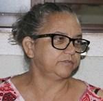 A usuária Josina Soares de Melo agradece a Deus pelo acolhimento e carinho