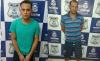 Os fugitivos Edimar e Hélio, respectivamente, já estão presos novamente, em Augustinópolis.