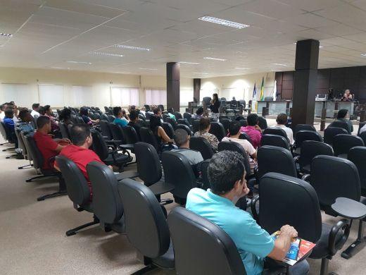 Durante o evento, os reeducandos foram informados dos seus direitos, deveres e consequências