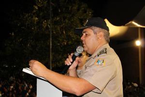 Coronel Glauber de Oliveira Santos, comandante geral da PM fala sobre a condecoração dos alunos.