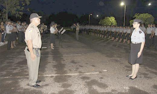 Solenidade de condecoração ocorreu nessa quarta-feira, 19, no pátio do CPM – Unidade II