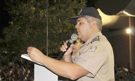 O Comandante Geral da PM, coronel Glauber de Oliveira Santos, destacou os alunos condecorados são exemplo de dedicação e devem servir de referência aos demais, pois representam as diretrizes do Colégio da Polícia Militar