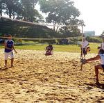 Entre as modalidades disputadas, o vôlei de praia agita as arenas de Gurupi