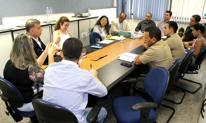 Reunião para criação do Comite Estadual de Segurança do Trânsito