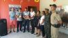 Amigos do Bem e APAE entregam biblioteca à unidade da PM em Miracema.