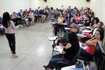 A formação acontece até o dia 27 de abril, na sede da Unicet