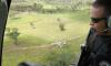 Com apoio do helicóptero foram localizados vários grupos de bovinos, mas nenhum era de origem ilícita. Mais de 300 alqueires foram vistoriados