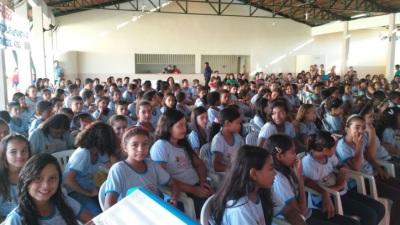 Crianças atendidas pelo PROERD na 6ª CIPM em Miracema_400.jpg